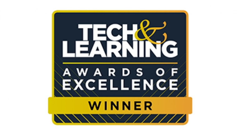 Tech & Learning Awards of Excellence Winner